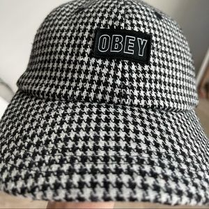 Obey checkered cap